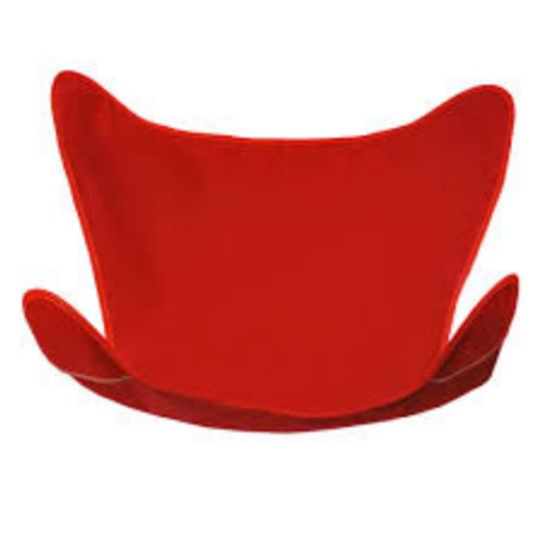 "38.5"" Red Outdoor Heavy-Duty Replacement Cover for Butterfly Chair - IMAGE 1"
