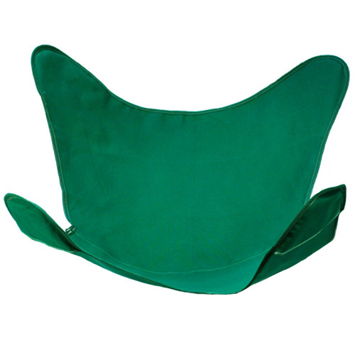 """38.5"""" Hunter Green Outdoor Heavy-Duty Replacement Cover for Butterfly Chair - IMAGE 1"""