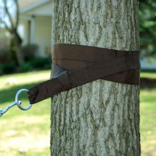 "6"" Brown Heavy-Duty Outdoor Hammock Tree Hanging Kit - IMAGE 1"