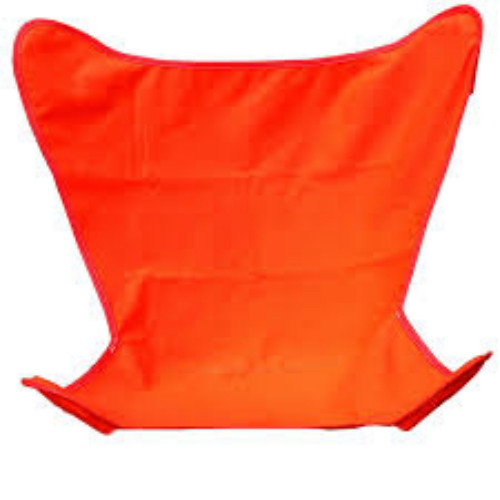 """38.5"""" Orange Outdoor Heavy-Duty Replacement Cover for Butterfly Chair - IMAGE 1"""