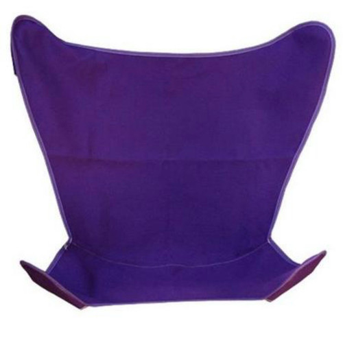 """38.5"""" Purple Outdoor Heavy-Duty Replacement Cover for Butterfly Chair - IMAGE 1"""