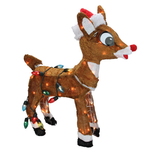 6 5 Quot Red Amp Brown Rudolph The Red Nosed Reindeer Christmas