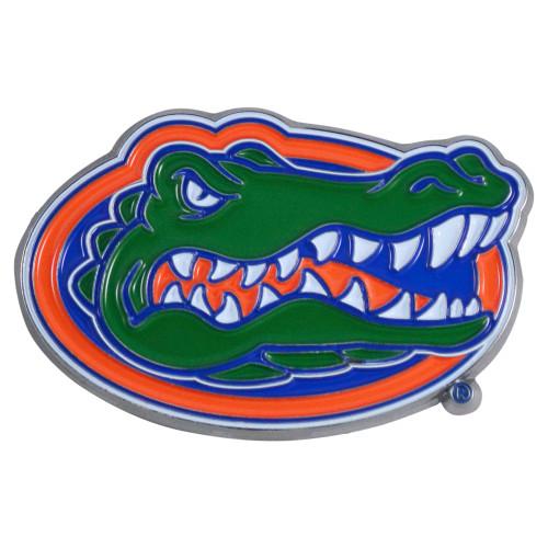 "Set of 2 Green and Blue NCAA University of Florida Gators Emblem Stick-on Car Decals 2"" x 3"" - IMAGE 1"