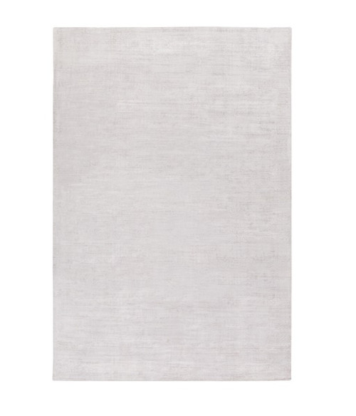 8' x 10' Timeless Serenity Cloud Gray Hand Loomed Area Throw Rug - IMAGE 1