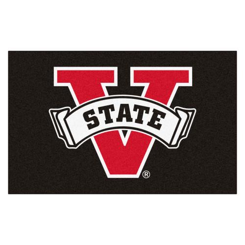 "59.5"" x 94.5"" Red and Black NCAA Valdosta State University Blazers Ulti-Mat - IMAGE 1"