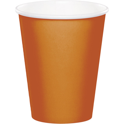 Club Pack of 240 Glittering Gold Disposable Hot/Cold Premium Cups 9 oz - IMAGE 1