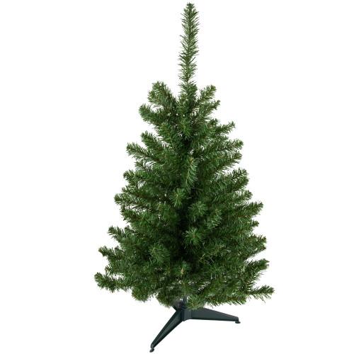 3' Medium Canadian Pine Artificial Christmas Tree - Unlit - IMAGE 1