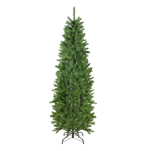 7.5' Unlit Pencil White River Fir Artificial Christmas Tree - IMAGE 1