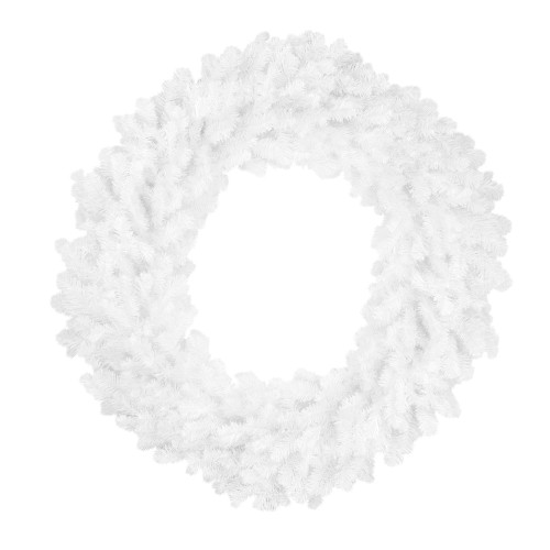 White Pine Artificial Christmas Wreath - 48-Inch, Unlit - IMAGE 1