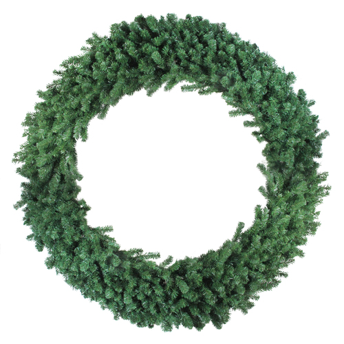 Deluxe Windsor Pine Artificial Christmas Wreath - 60-inch, Unlit - IMAGE 1