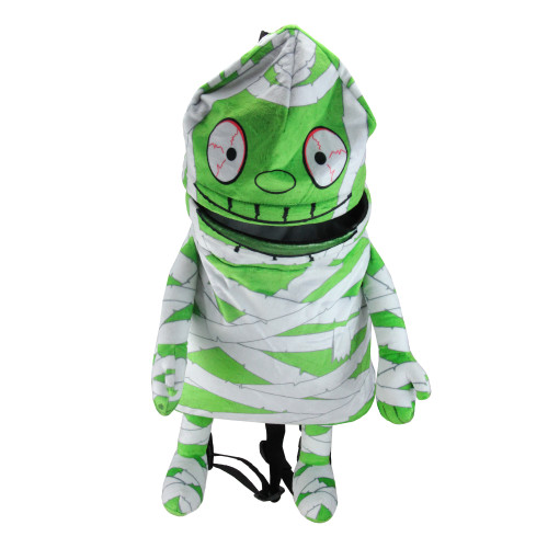"20"" Musical Animated Mummy Unisex Child Halloween Trick or Treat Bag Costume Accessory - IMAGE 1"