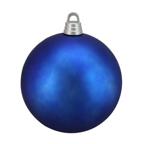 "Matte Lavish Blue Shatterproof Christmas Ball Ornament 12"" (300mm) - IMAGE 1"