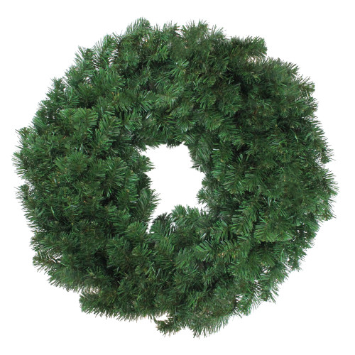 Deluxe Windsor Pine Artificial Christmas Wreath - 30-Inch, Unlit - IMAGE 1