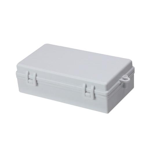 """6"""" White Rectangular USB Battery Box for LED Lights - IMAGE 1"""
