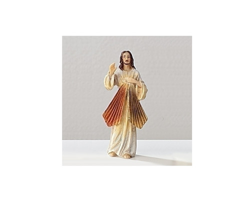 "3.75"" Patrons and Protectors Collection Divine Mercy Jesus Religious Figure - IMAGE 1"