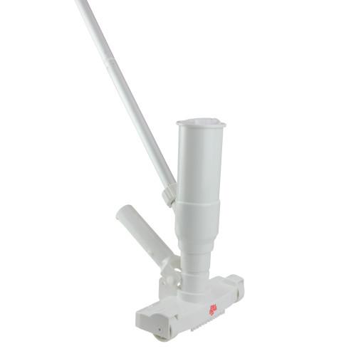 5-Piece White Venturi Vacuum Kit for Pool and Spa - IMAGE 1