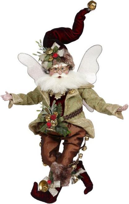 "18"" Green and Brown Jingles Christmas Fairy - Medium - IMAGE 1"