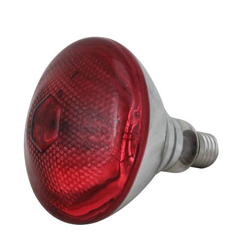 Incandescent Weatherproof 100 Watt Indoor/Outdoor Red Floodlight Bulb - IMAGE 1