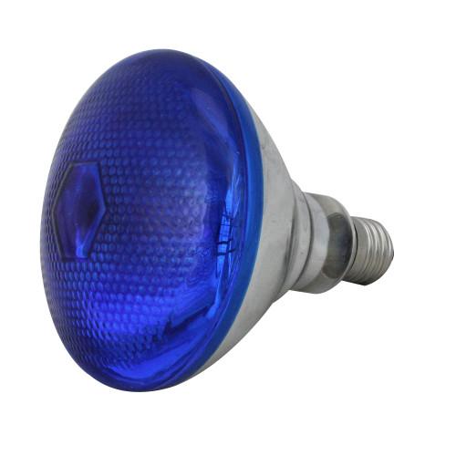 Incandescent Weatherproof 100 Watt Indoor/Outdoor Blue Floodlight Bulb - IMAGE 1