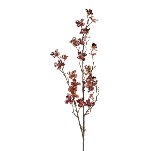"""43"""" Pink and Gold Dogwood Floral Craft Artificial Christmas Spray - IMAGE 1"""
