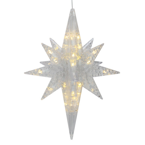 "20"" LED Lighted 3D Star of Bethlehem Christmas Decoration - IMAGE 1"