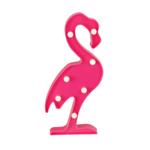 """11.75"""" Pink Flamingo LED Marquee Wall Sign - IMAGE 1"""
