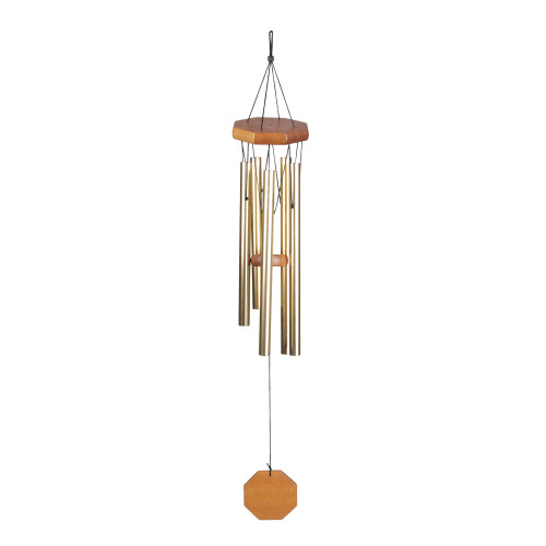 "27"" Metal Hanging Outdoor Patio Garden Wind Chimes - IMAGE 1"
