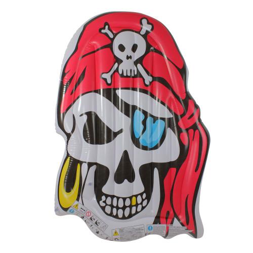 """59"""" Inflatable Pirate Skull Jumbo Pool Float - IMAGE 1"""