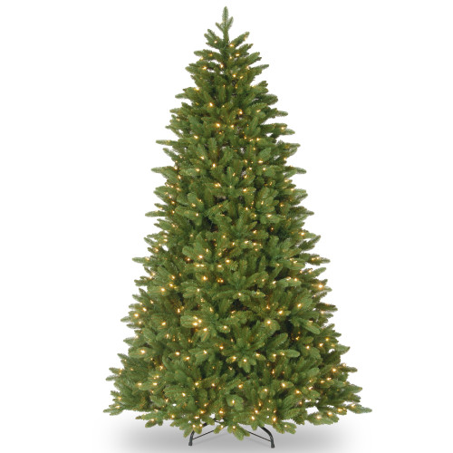 7.5' Pre-Lit Ridgewood Spruce Artificial Christmas Tree – Clear Lights - IMAGE 1