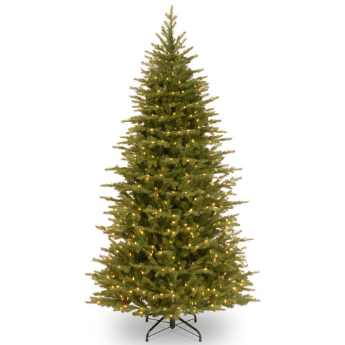 7.5' Pre-Lit Nordic Spruce Artificial Christmas Tree – Clear Lights - IMAGE 1