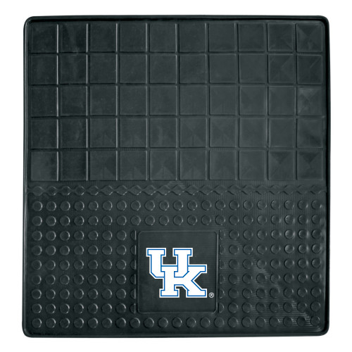 """31"""" x 31"""" Black and White NCAA University of Kentucky Wildcats Cargo Mat for Car Trunk - IMAGE 1"""