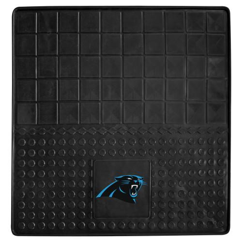 """31"""" x 31"""" Black NFL Carolina Panthers Cargo Mat - IMAGE 1"""
