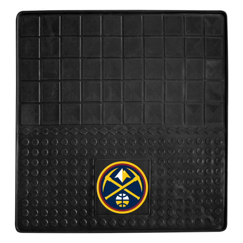 """31"""" x 31"""" Black and Yellow NBA Denver Nuggets Cargo Mat - IMAGE 1"""