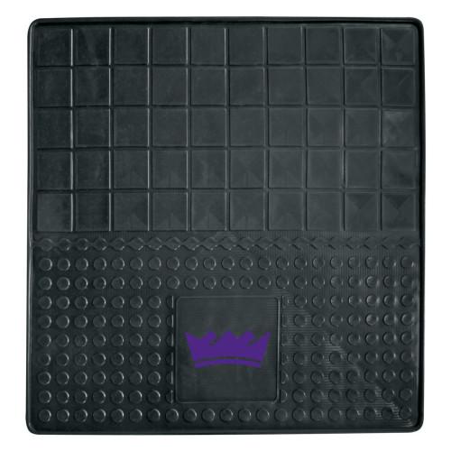 "31"" x 31"" Black and Purple NBA Sacramento Kings Cargo Mat - IMAGE 1"