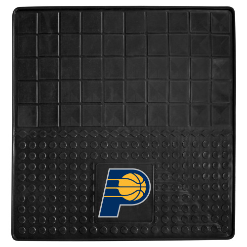 """31"""" x 31"""" Black and Blue NBA Indiana Pacers Cargo Mat - IMAGE 1"""