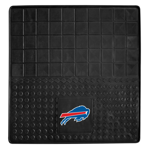 "31"" x 31"" Black and Blue NFL Buffalo Bills Cargo Mat - IMAGE 1"