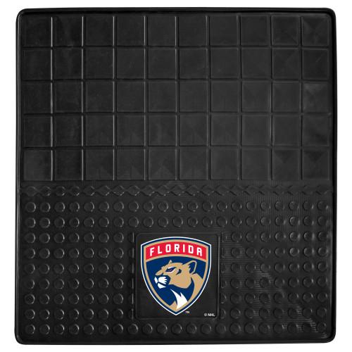 "31"" x 31"" Black and Blue NHL Florida Panthers Cargo Mat - IMAGE 1"
