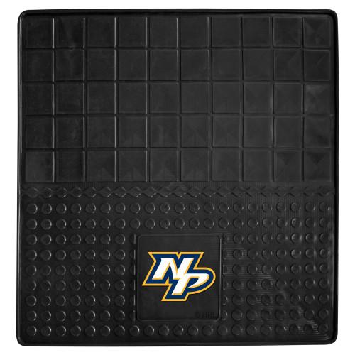 """31"""" x 31"""" Black and White NHL Nashville Predators Cargo Mat - IMAGE 1"""