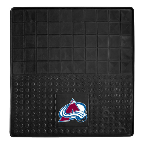 """31"""" x 31"""" Black and Blue NHL Colorado Avalanche Cargo Mat - IMAGE 1"""