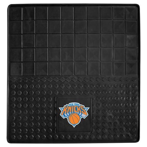 """31"""" x 31"""" Black and Blue NBA New York Knicks Cargo Mat for Car Trunk - IMAGE 1"""