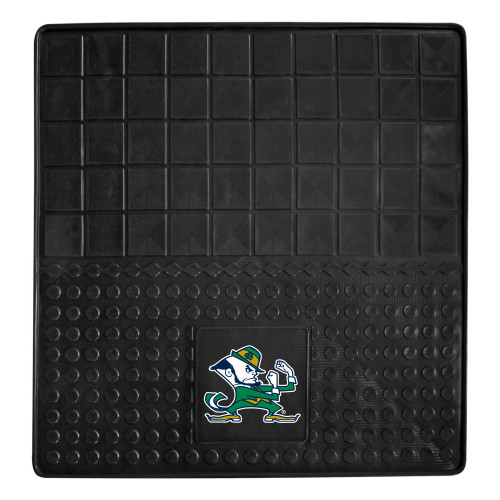 """31"""" x 31"""" Black and Green NCAA Notre Dame Fighting Irish Cargo Mat for Car Trunk - IMAGE 1"""