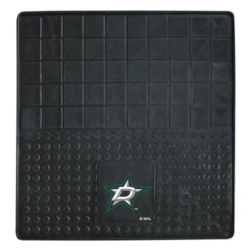 "31"" x 31"" Black and White NHL Dallas Stars Cargo Mat - IMAGE 1"