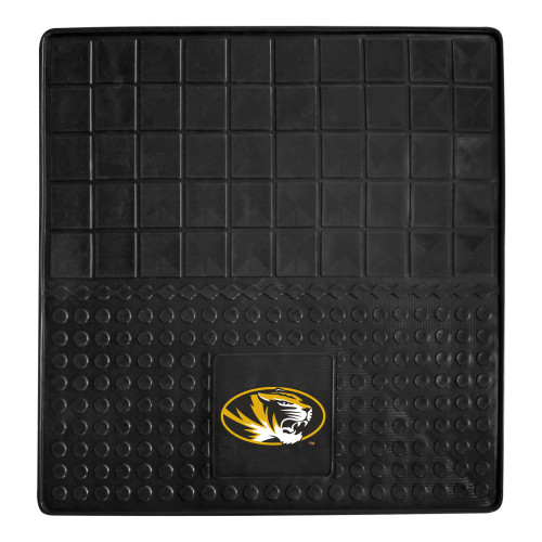 """31"""" x 31"""" Black and Yellow NCAA University of Missouri Tigers Cargo Mat for Car Trunk - IMAGE 1"""