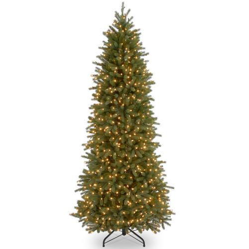 6.5' Pre-Lit Jersey Fraser Fir Artificial Christmas Tree – Clear Lights - IMAGE 1
