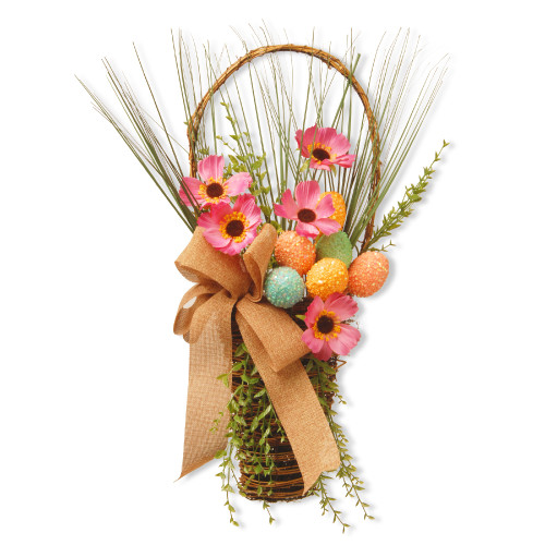"""23"""" Easter Basket with Flowers - IMAGE 1"""