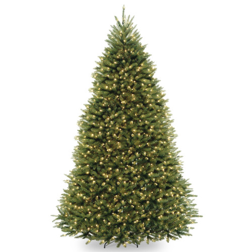 9' Pre-Lit Dunhill Fir Artificial Christmas Tree – Clear Lights - IMAGE 1