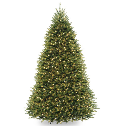 9' Pre-Lit Dunhil Fir Artificial Christmas Tree – Clear Lights - IMAGE 1