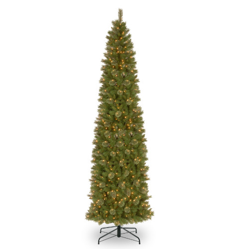 12' Pre-Lit Tacoma Pine Artificial Christmas Tree - Clear Lights - IMAGE 1