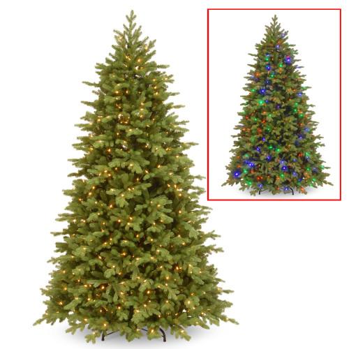 7.5' Pre-Lit Princeton Fraser Fir Artificial Christmas Tree – Dual Color LED Lights - IMAGE 1