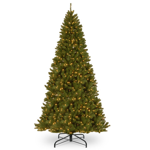 10' Pre-Lit North Valley Spruce Artificial Christmas Tree - Clear Lights - IMAGE 1